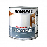 Ronseal 35756 Diamond Hard Floor Paint Slate 2.5 Litre