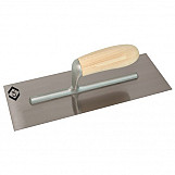 CK T5299 Plastering Finishing Trowel Stainless Steel Wood Grip 330 X 120mm