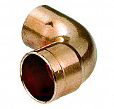 Water Pipe Fitting Elbow Copper Connector Solder Male x Female 15mm Diameter
