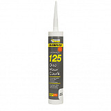 Everbuild 125 One Hour Caulk Brown C3 Tube