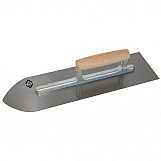 CK T5264 Flooring Trowel Carbon Steel Wood Grip 405 X 115mm