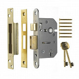 ERA 202-62 Viscount Mortice Sashlock 5 Lever 67mm Chrome Plated
