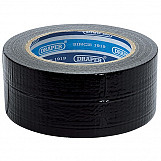 Draper 49432 33M X 50mm Black Duct Tape Roll