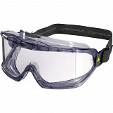 Delta Plus GALERAS Polycarbonate Safety Goggles - Clear