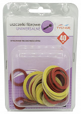 40x Kitchen Bathroom Universal Gaskets Fibre Washer Set Various Sizes Types