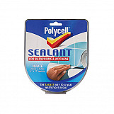 Polycell 6033784 Seal Strip Bathroom Kitchen White 22mm