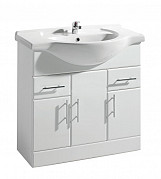 Eastgate Basin Unit 800mm H x 860mm W - High Gloss White