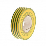 Faithfull FAITAPEPVCGY PVC Electricial Tape Green / Yellow 19mm X 20m