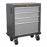 Sealey AP04DFC 4 Drawer Mobile Cabinet