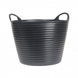 14 Litre Flexi Tub Bucket Black