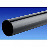 OSMA  Roundline Downpipe 68mm 4 Metre Black 0T084