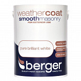 Berger Weathercoat Smooth Masonry 5L Magnolia