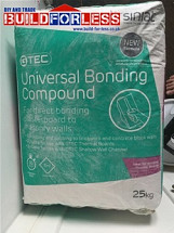 Universal Bonding Compound 25KG (Dot and Dab) Per item
