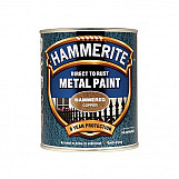 Hammerite HFCO750 Direct To Rust Hammered Finish Metal Paint Copper 750ml