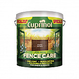 Cuprinol 5194071 Less Mess Fence Care Rustic Brown 6 Litre