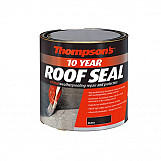 Ronseal 30142 Thompsons High Performance Roof Seal Black 1 Litre
