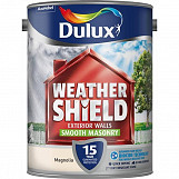 Dulux Weathershield Smooth Masonry Paint 5L County Cream