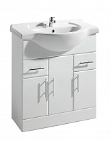 Eastgate Basin Unit 800mm H x 760mm W - High Gloss White