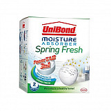 Unibond 2008967 Small Moisture Absorber Spring Fresh Power Tab Refill Pack Of 2