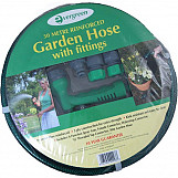 Evergreen GBH30G Garden Hosepipe Reinforced With Fittings And Spray Gun 30 Metre