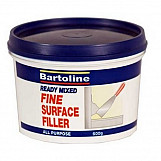 Bartoline 52720330 Ready Mixed Fine Surface Filler 600g Tub