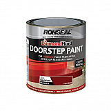 Ronseal 36658 Diamond Hard Doorstep Paint Red 250ml