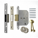 ERA 201-62 Viscount Mortice Deadlock 5 Lever 67mm Chrome Plated