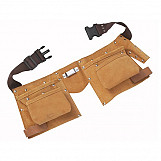 BlueSpot 16332 Double Leather Tool Pouch - Regular