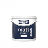Johnstone's Paint Matt 5L Brilliant White