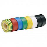 Draper 68157 Expert 8 X 10M X 19mm Mixed Colours Insulation Tape To BSEN60454/Type2