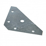 Fixman 686967 Corner Plates 83 X 0.9mm Pack Of 10