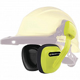 Delta Plus SUZUKA Clip On Ear Defenders for Safety Helmets SNR 27 dB - Yellow