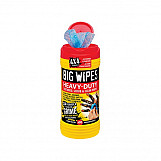 Big Wipes 2420 0000 4x4 Heavy-Duty Cleaning Wipes Tub Of 80