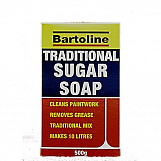 Bartoline 69400390 Sugar Soap Powder Traditional 500g Sachet In Box