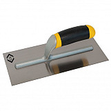 CK T5298 Plastering Finishing Trowel Carbon Steel Soft Grip 280 X 120mm