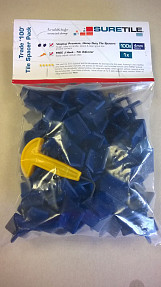 4mm Premium, Heavy Duty Tile Spacers (Pack of 100)