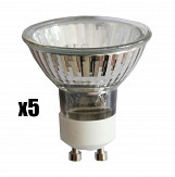 Pack of 5 - Eco Halogen GU10 Bulbs