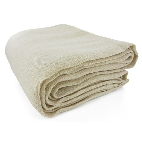 TTD COTTON243 Cotton Twill Staircase Dust Sheet 24' X 3'