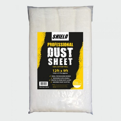 TIMco CDS1212 Shield Dust Sheet 12ft X 12ft