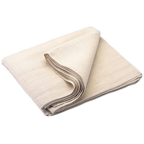 TTD LAMINATED129 Cotton Laminated Back Dust Sheet 12' X 9'