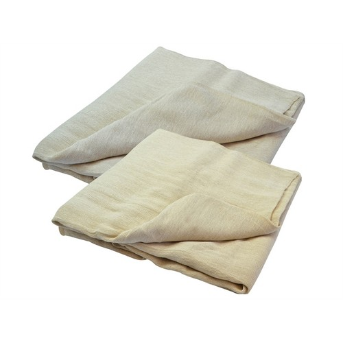 Faithfull FAIDSCT129ST Cotton Twill Multi Purpose Dust Sheet Twinpack