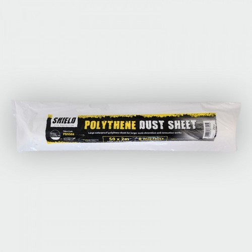 TIMco PDS502 Shield Polythene Dust Sheet